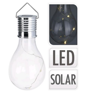 Solarlamp riputatav 17 x 7 cm