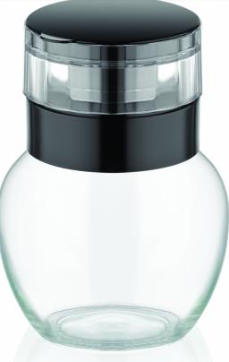 Pipra või soolaveski klaaspurk 210 ml