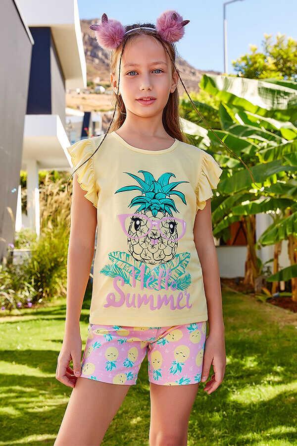 Tüdrukute komplekt Hello Summer
