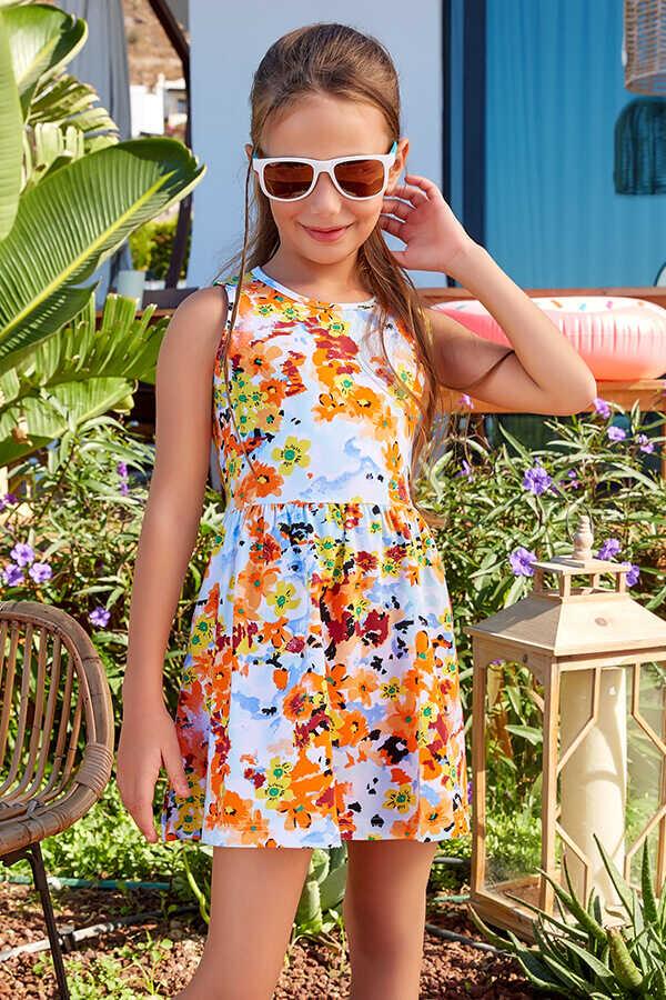 Tüdrukute kleit Lilleline
