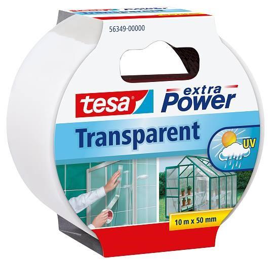 Parandusteip PE läbipaistev Tesa
