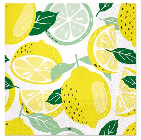 Salvrätikud sidrunid 20 tk