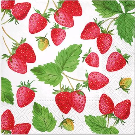 Salvrätikud Maasikad 20 tk