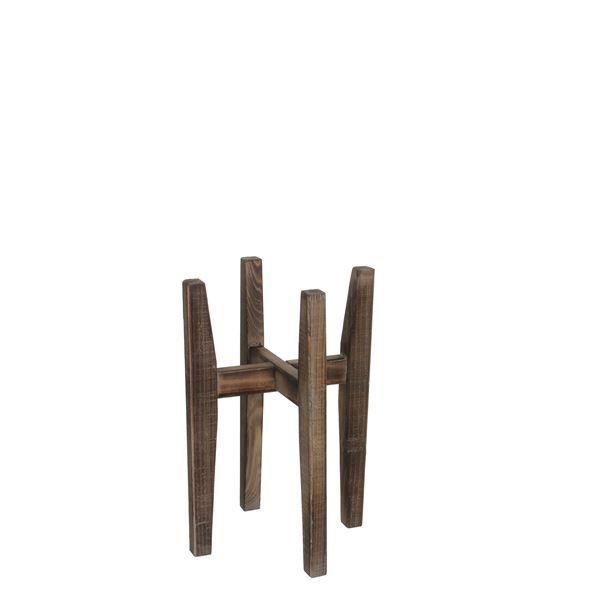 Lillepoti hoidja Ascot puidust 33 x 33 x 48 cm