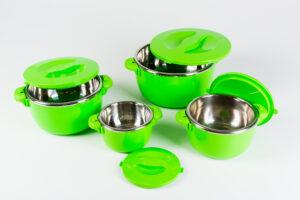 Termopottide komplekt 4 tk roheline
