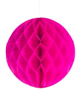 Kärgpall 25 cm roosa