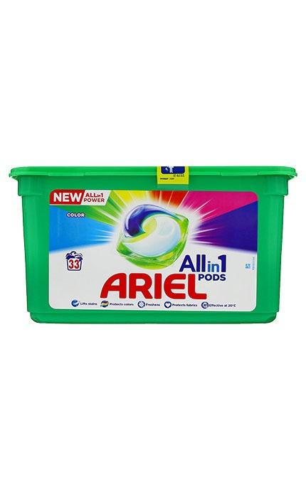 Ariel pesukapslid 33 tk