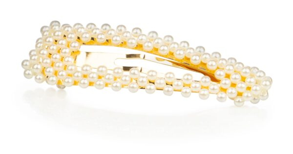 Juukseklamber pärlitega 9 cm Willkem