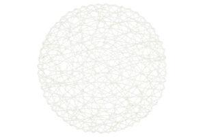 Lauakate läbimõõt 38 cm valge