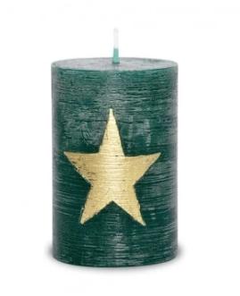 Küünal roheline tähega