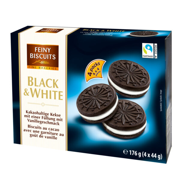 Küpsised Black&White 176 g