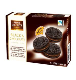 Küpsised Black&Chocolate 176 g
