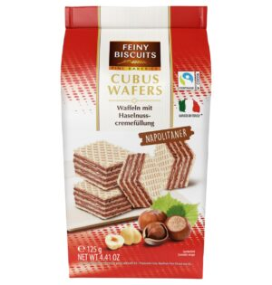 Vahvlid pähklitäidisega 125 g