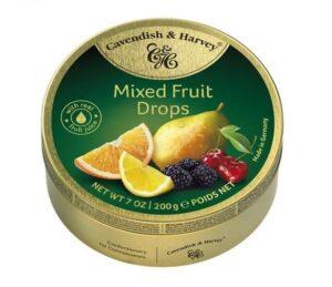 Karamellkommid Mixed Fruit 200g