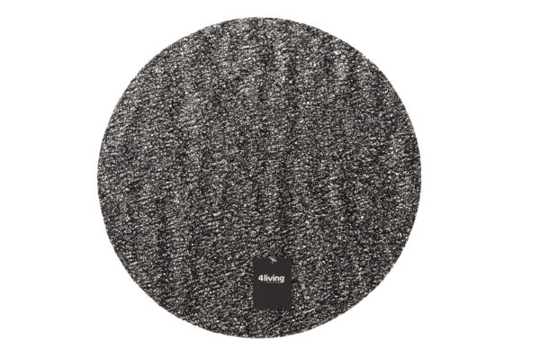 Lauakate läbimõõt 38 cm must