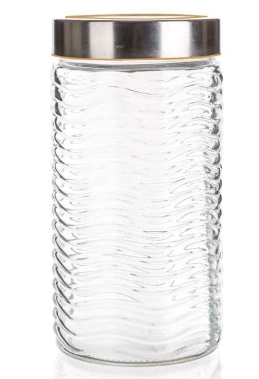 Hoiupurk klaasist kaanega 1350 ml SINTA