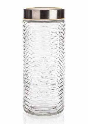 Hoiupurk klaasist kaanega 1800 ml SINTA