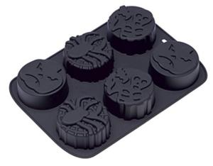 Muffinivorm silikoonist halloween