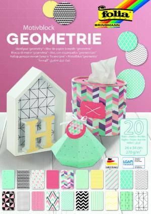 Käsitööpaber geomeetria 20 lk