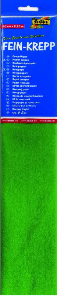 Krepppaber 50 cm x 2,5 m heleroheline