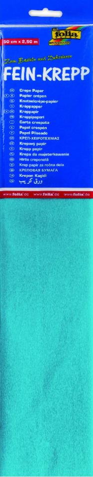 Krepppaber 50 cm x 2,5 m helesinine
