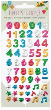 Kleepsud numbrid 9,5 x 17,5 cm