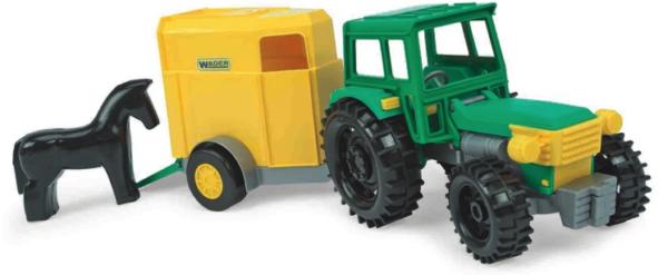 Traktor hobutreileriga