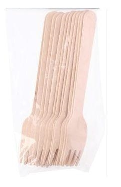 Kahvel puit 50 tk 16 cm