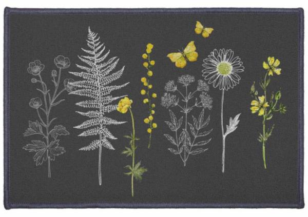 Jalamatt 40 x 60 cm Flora