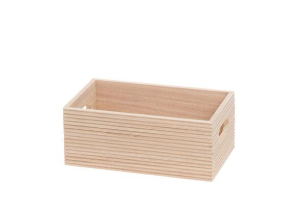 Hoiukast puidust 26 x 16 x 10 cm