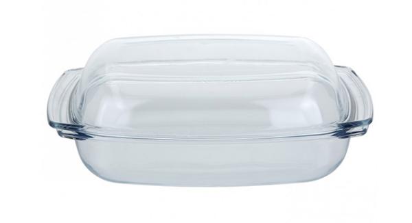 Ahjuvorm klaasist kaanega 4100 ml