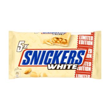 Snickers valge šokolaadiga 5-pakk