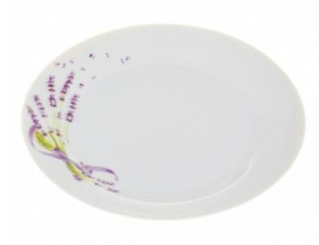 Taldrik portselan 19 cm lavendel