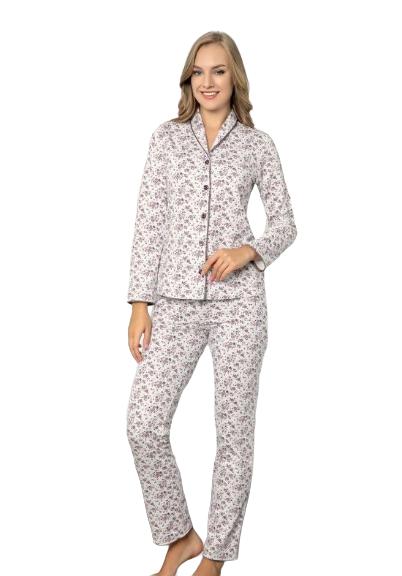 Naiste pidžaama Sabrina Flanell