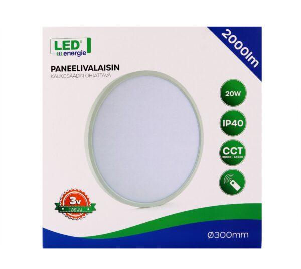 LED valgusti kaugjuhitav 30 cm IP40