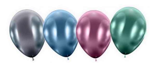 Õhupallid maksi metal 4 tk