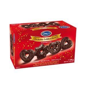 Piparkoogid tumeda šokolaadiga 500 g