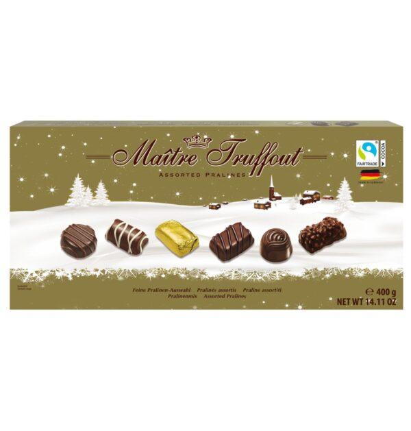 Šokolaadikommide assortii 400 g